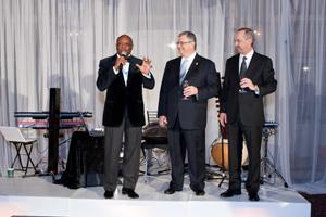 Willie Brown, Clem Esmail, Doug Harvill