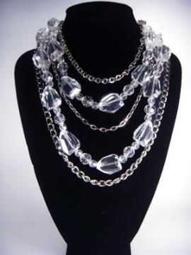 silver chain – crystal.400